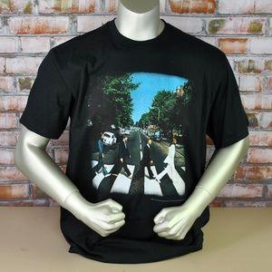 Beatles Abbey Road Graphic T-Shirt - XL
